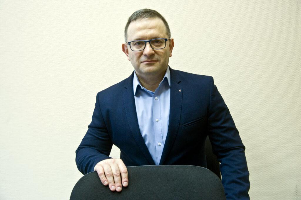 "Главный редактор ""Солидарности"" Александр Шершуков"
